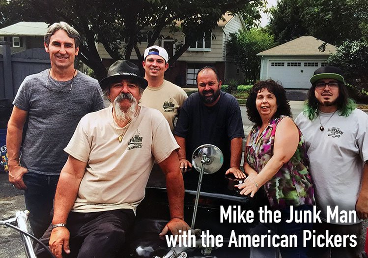 mike the junk man and the american pickers